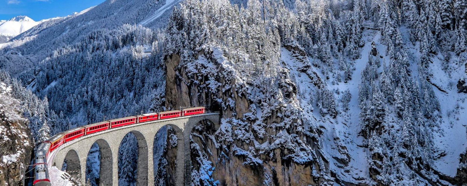 trens panorâmicos suica
