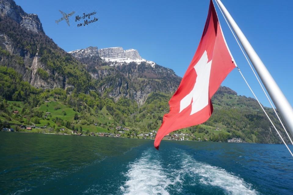 passeio de barco lago lucerne