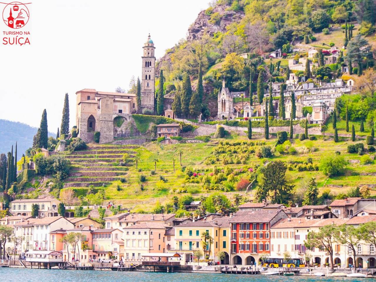 vilas suiças morcote