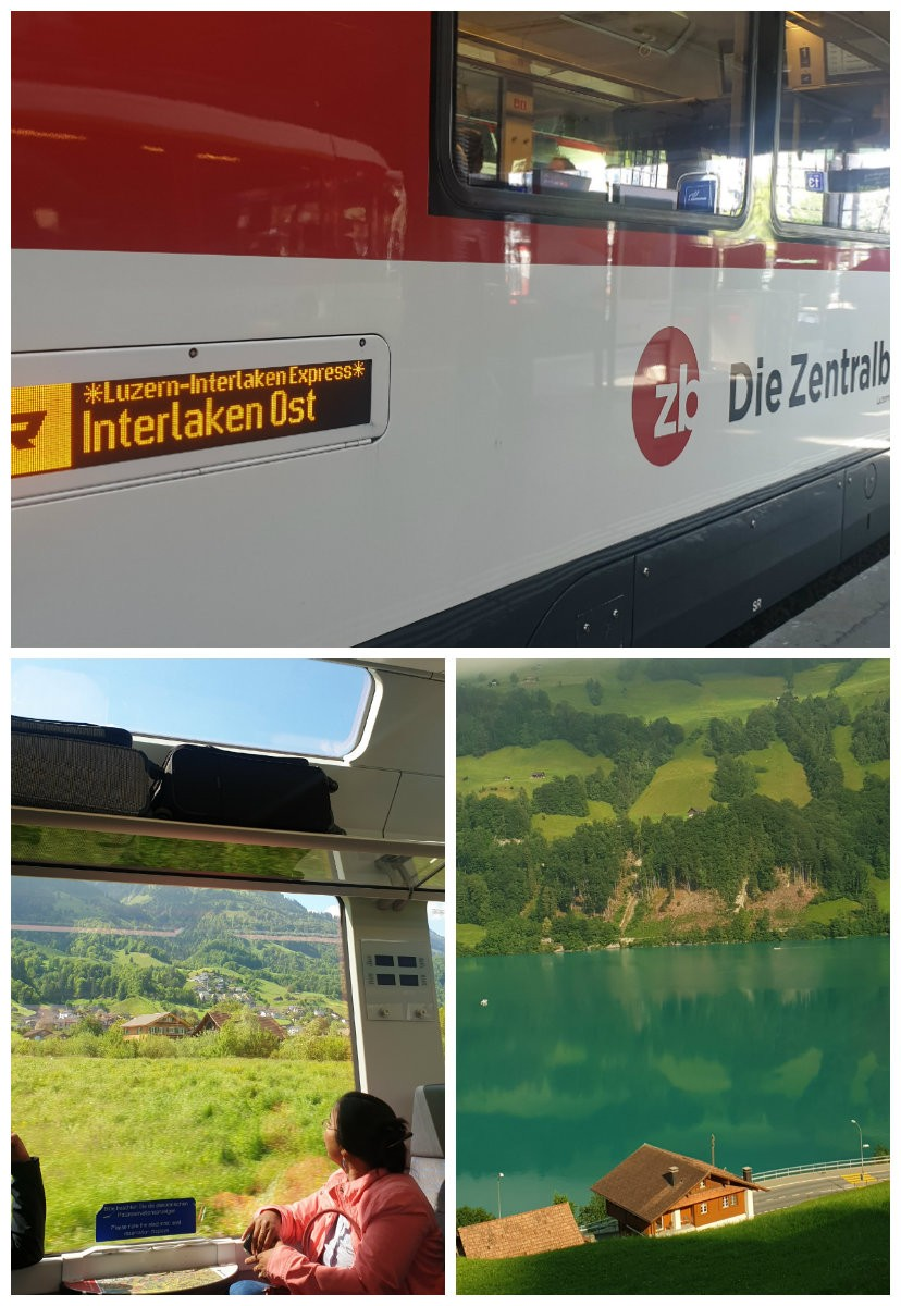 interlaken express trem