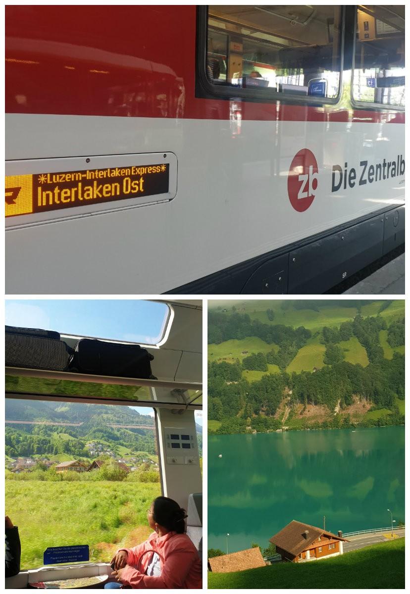 interlaken express trem