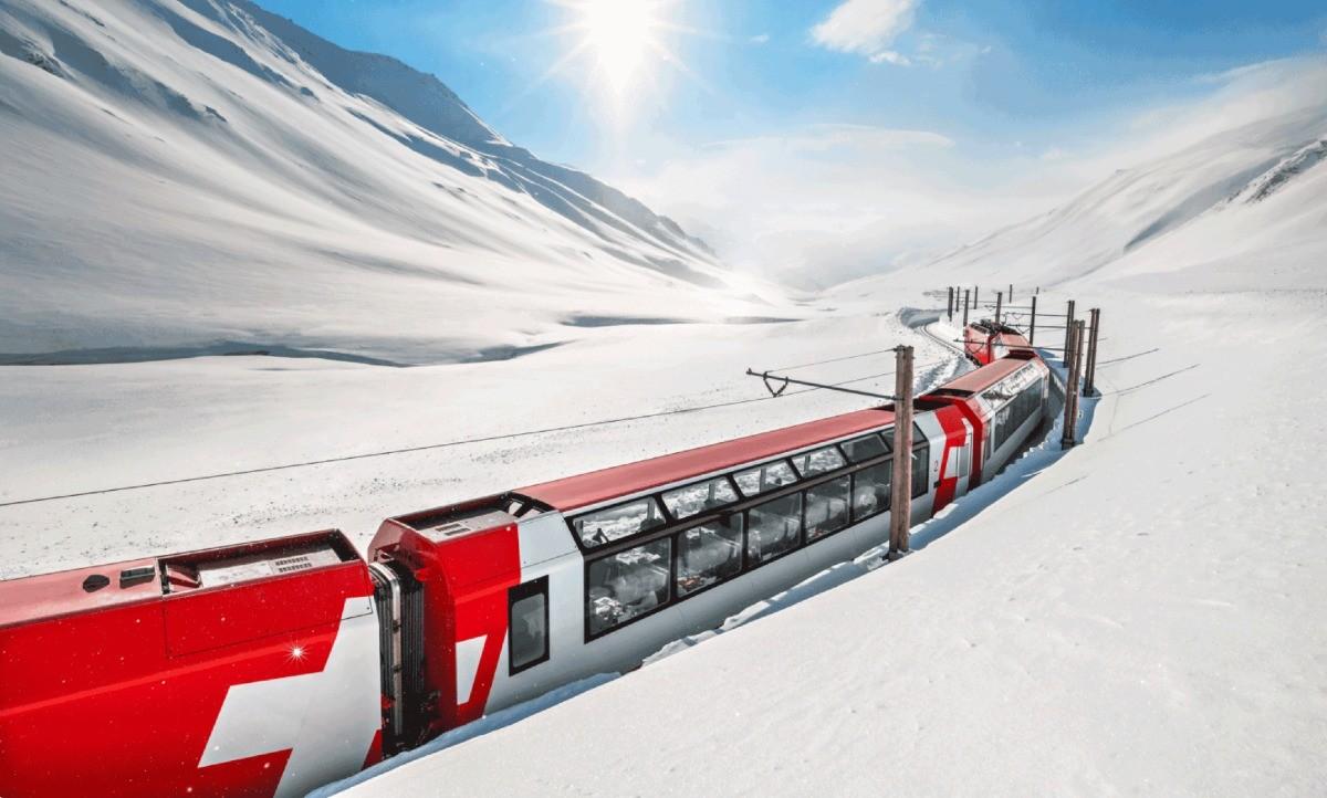 Glacier Express desconto swiss travel pass