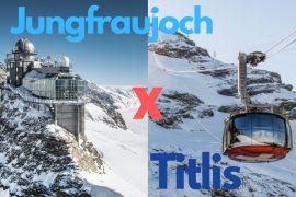 titlis ou jungfraujoch