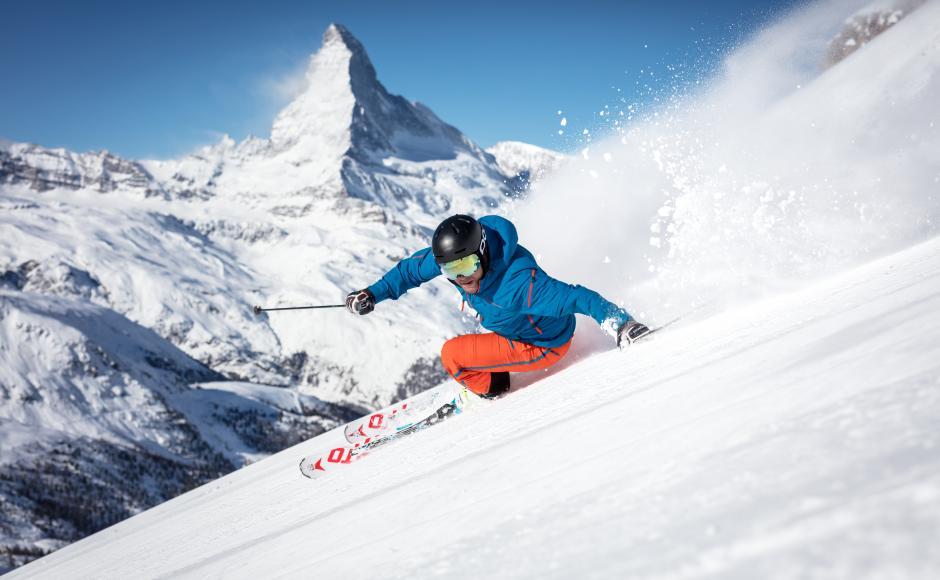 onde praticar esqui na suiça