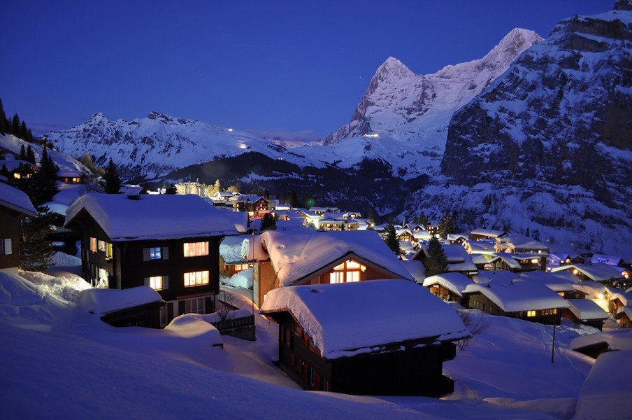 o que visitar no inverno na suiça