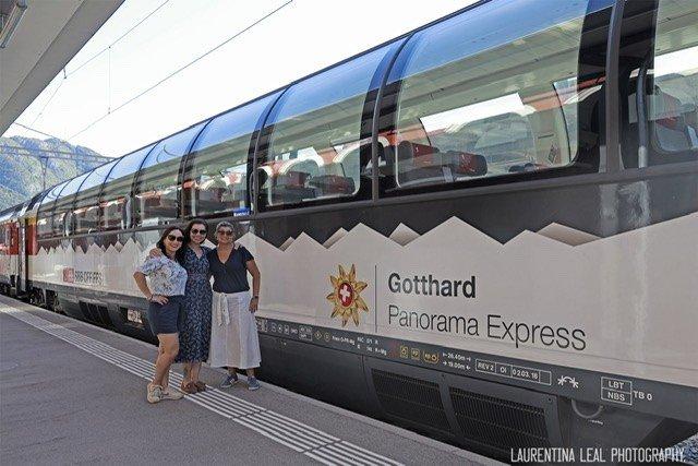 Passeio Gotthard panorama express