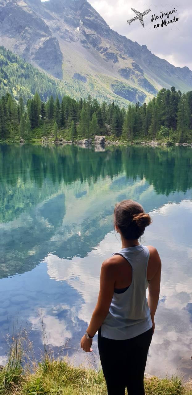 lago azul suica