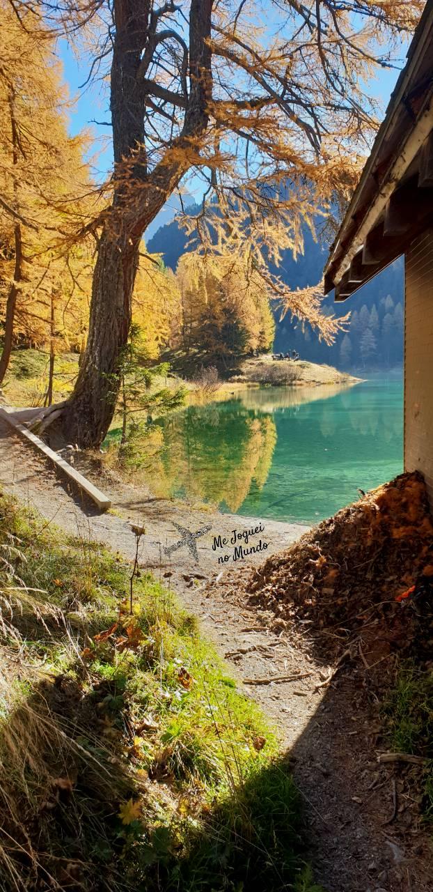 Trilha Lago Palpuogna