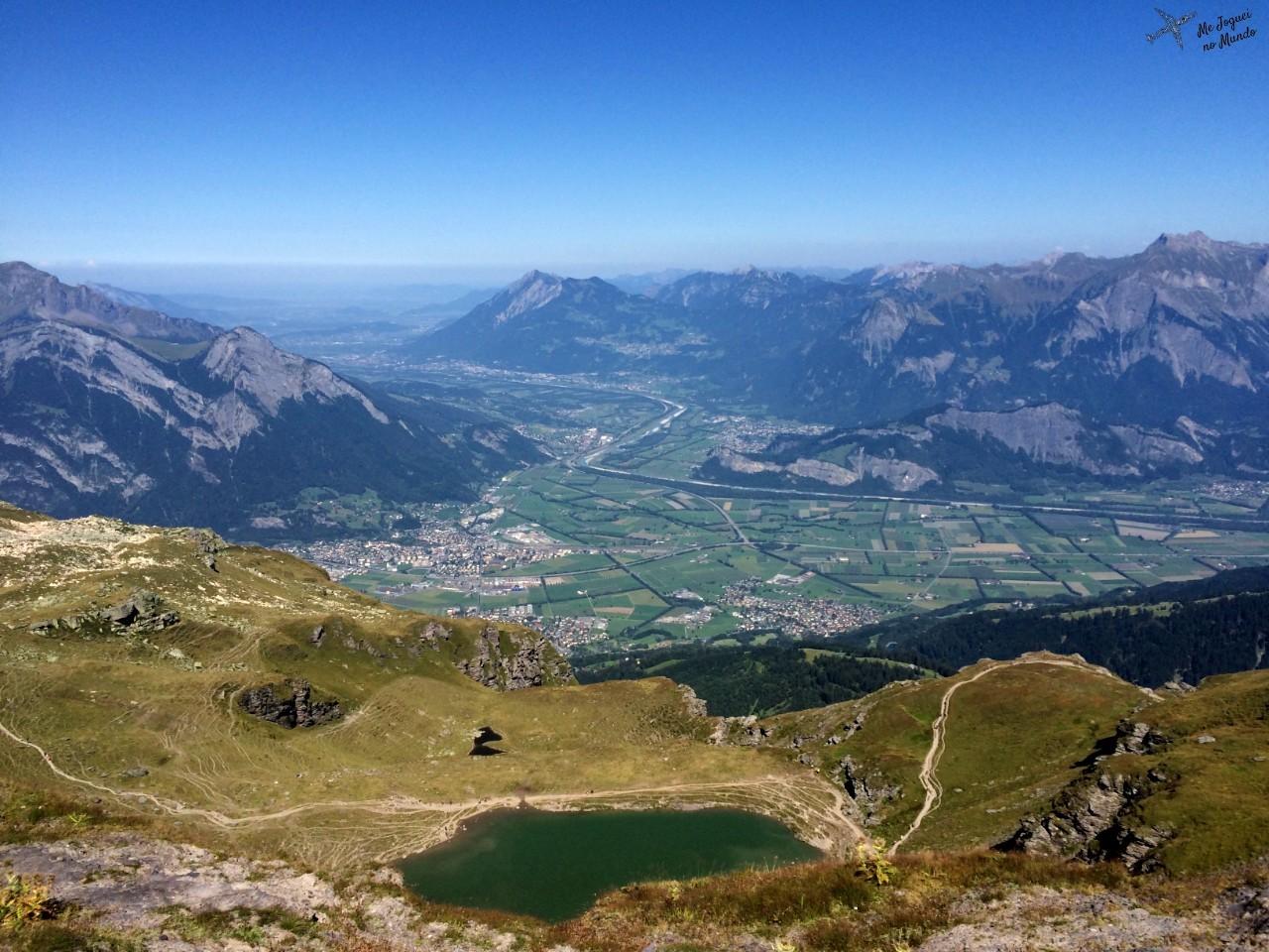 panorama montanha pizol