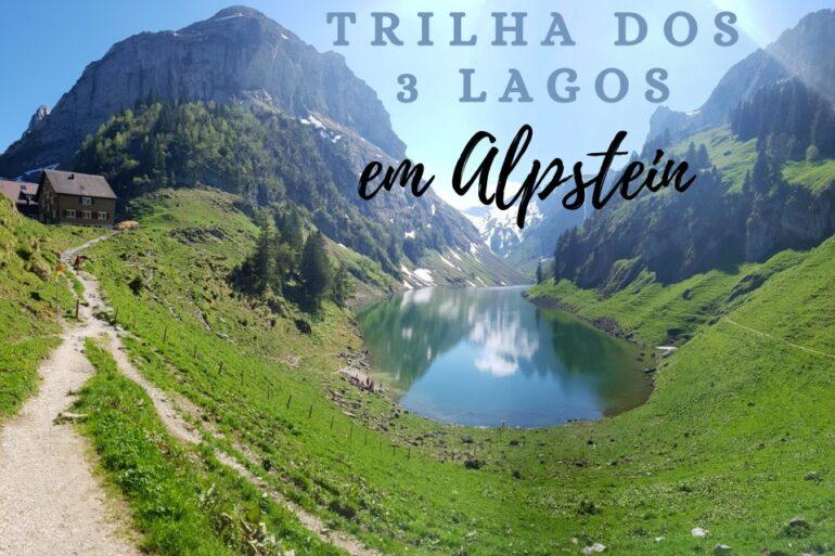 trilha dos 3 lagos em alpstein