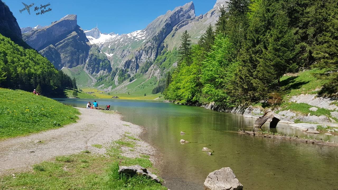 trilha lago seealpsee alpstein