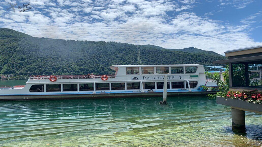 passeio de barco lago lugano