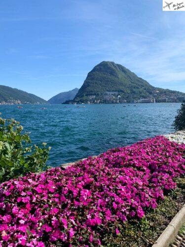 cidade de lugano suiça no verão