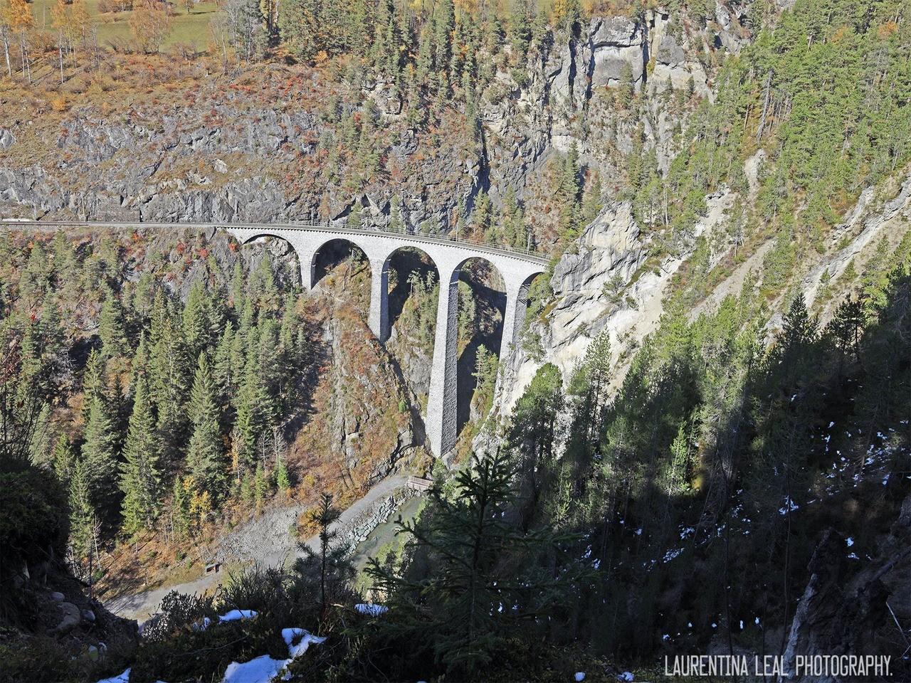 viaduto landwasser em filisur