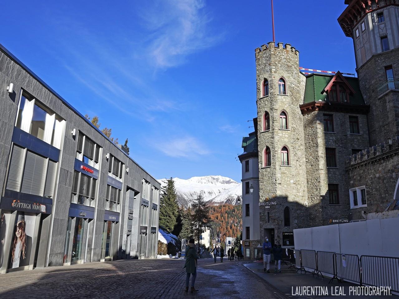 cidade de st moritz suíça
