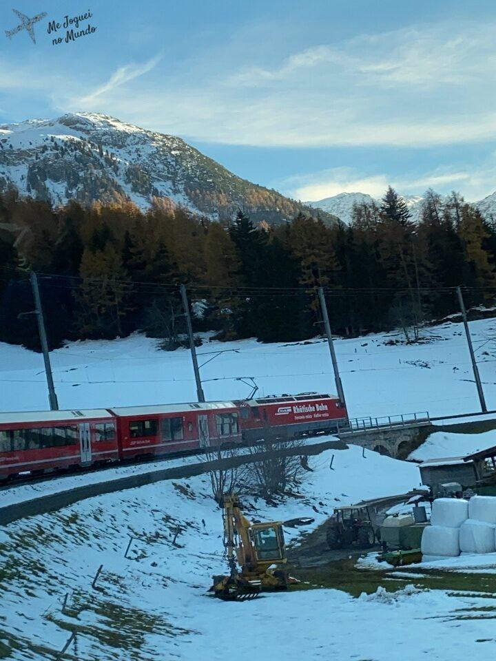 caminho de trem até st moritz