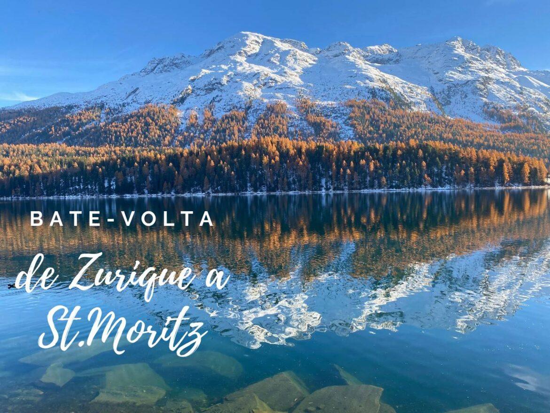 de Zurique a St.Moritz