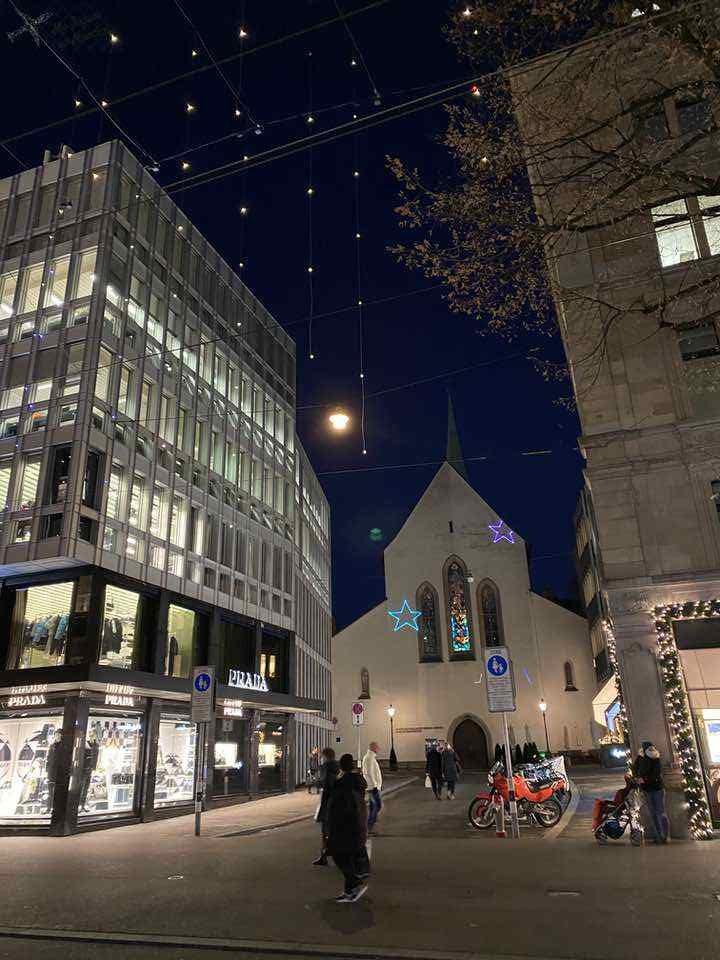 natal bahnhofstrasse zurique