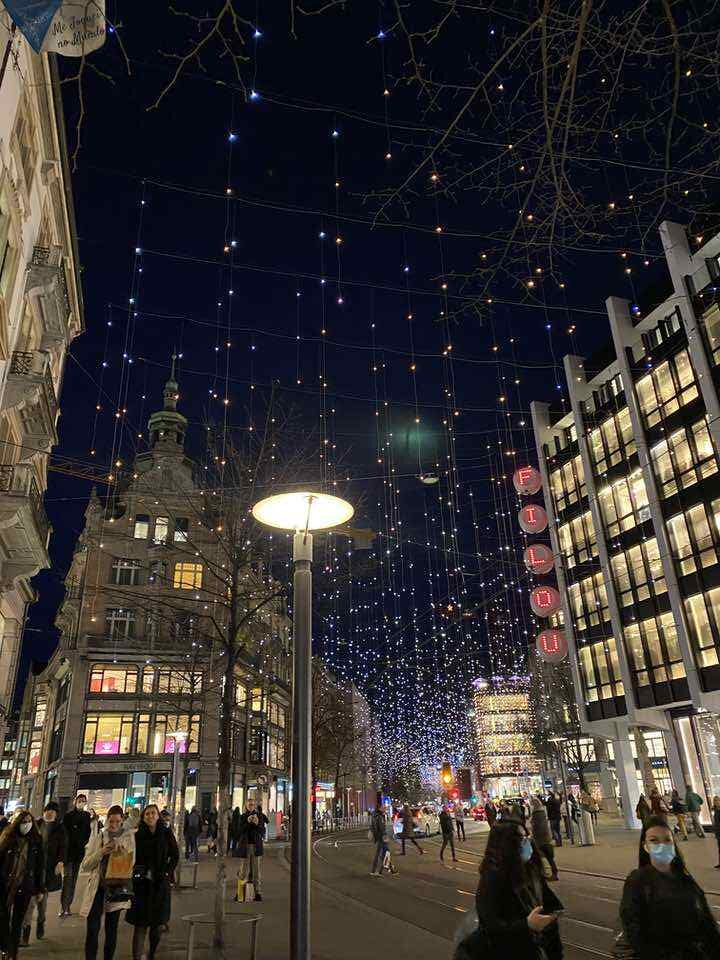 luzes de natal bahnhofstrasse