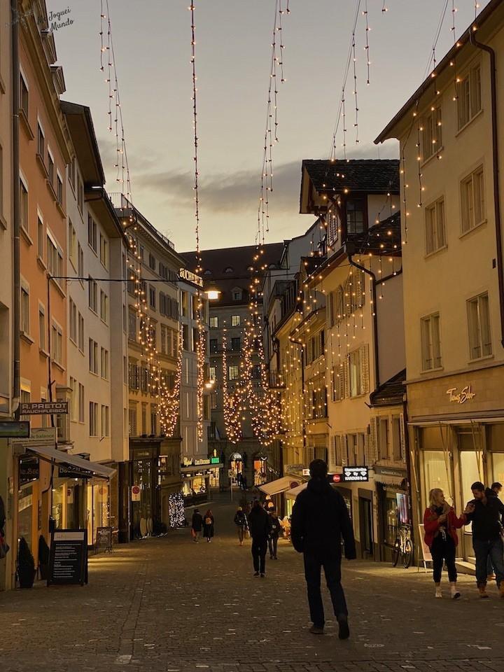 o que fazer em Zurique em Dezembro