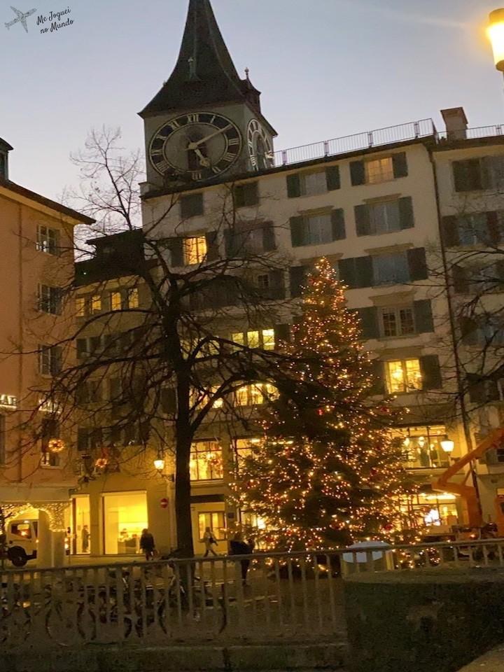 Natal em Zurique 2020