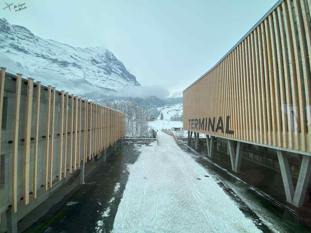 novo terminal em grindelwald