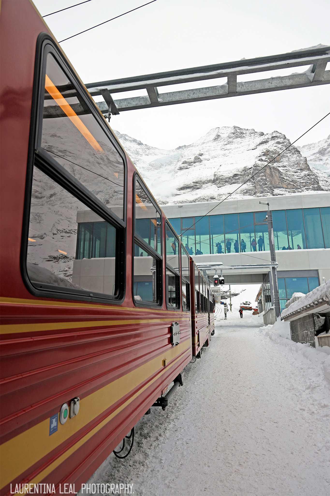 trem Jungfraujoch