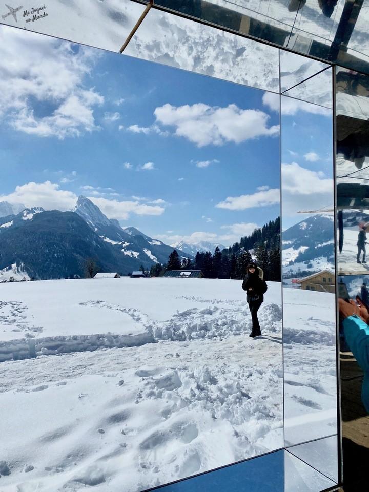 casa de espelhos gstaad