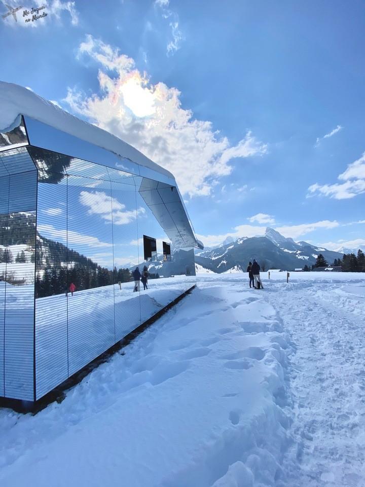 casa de espelhos suiça