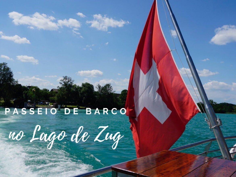 passeio de barco pelo lago de zug