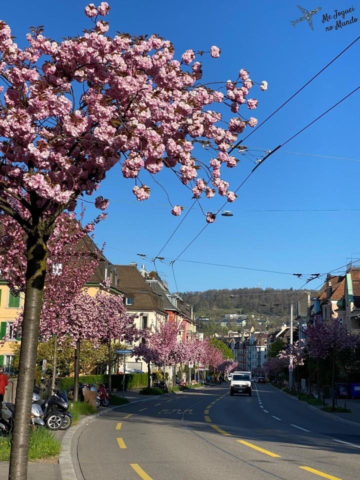 zurique na primavera