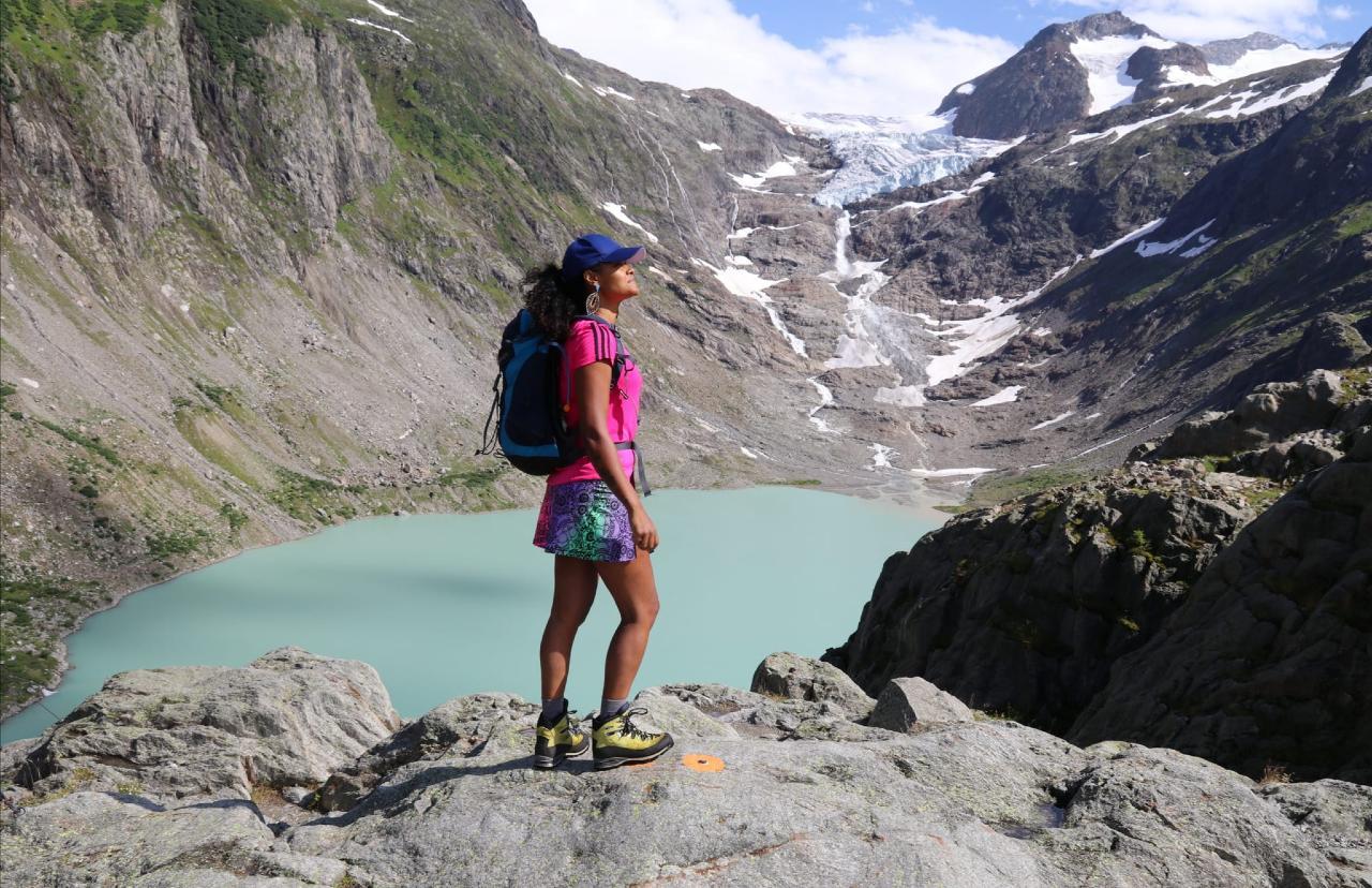ester, grupo trilhas na suiça
