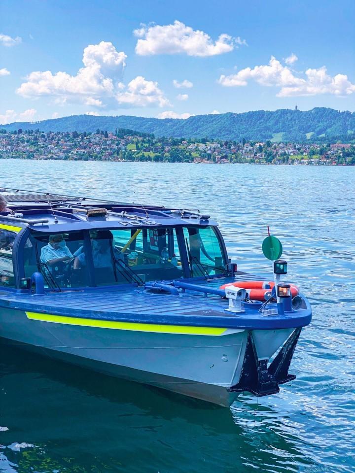 passeios de barco em zurique