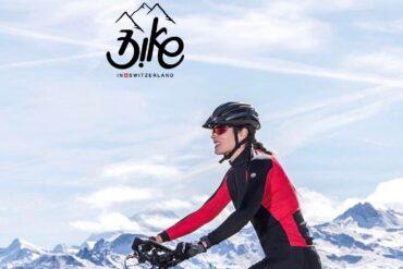 passeio de bicicleta suiça