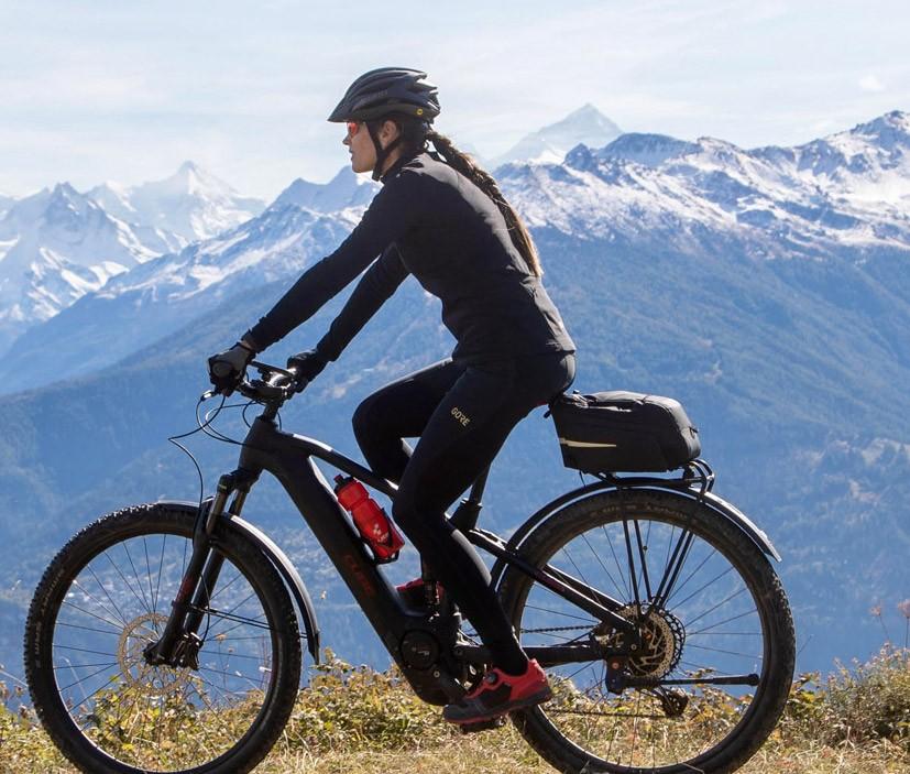 passeio de bicicleta na suíça