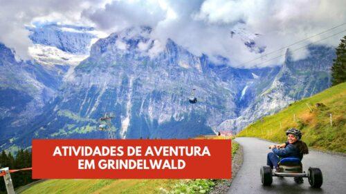 O que fazer na Montanha First em Grindelwald no verão
