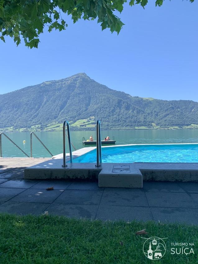 suiça no verão onde nadar