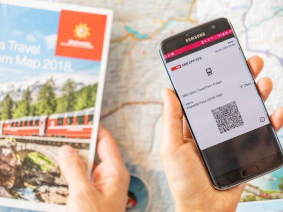 comprar bilhetes de trem online na suiçA