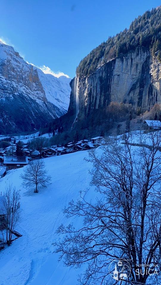 suiça em fevereiro