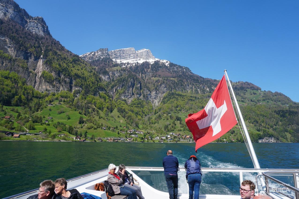 suiça passeios de barco