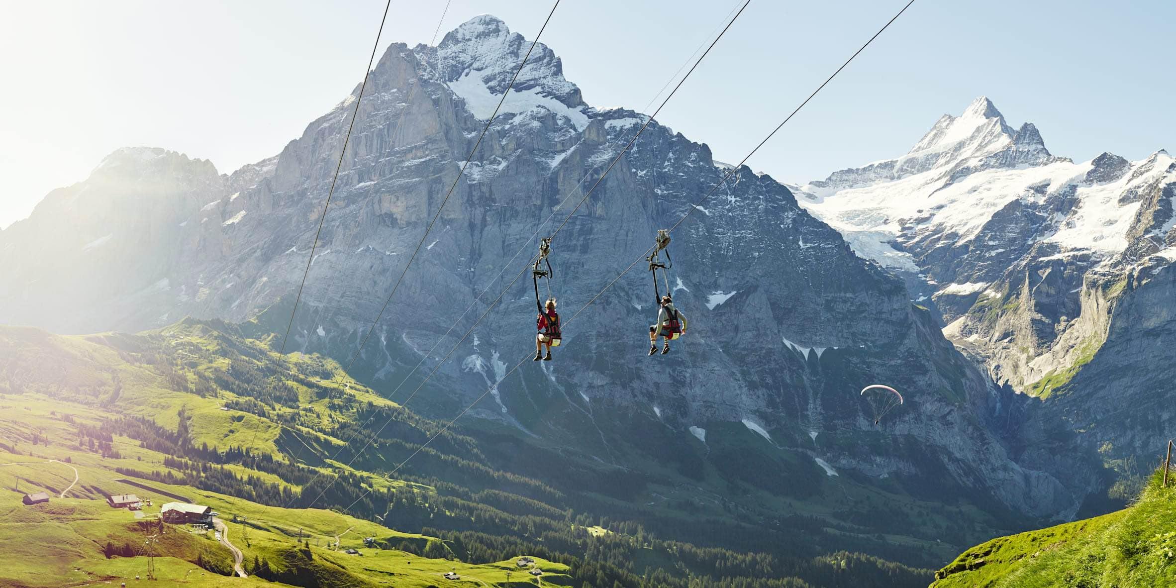 o que fazer na Montanha First em Grindelwald