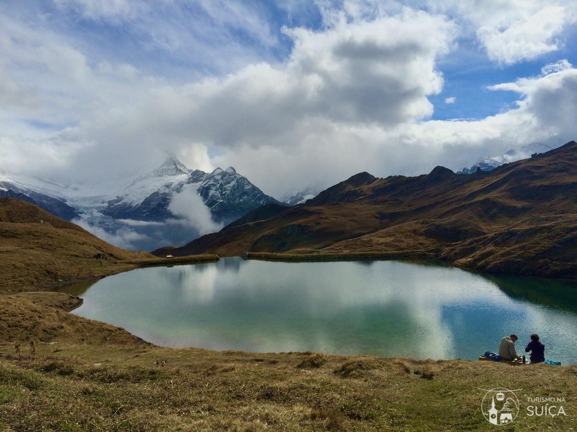 trilha Lago Bachalpsee grindelwald