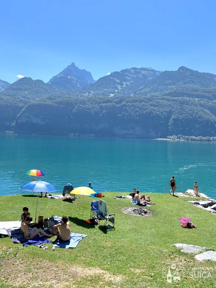 como aproveitar o verão na suiça