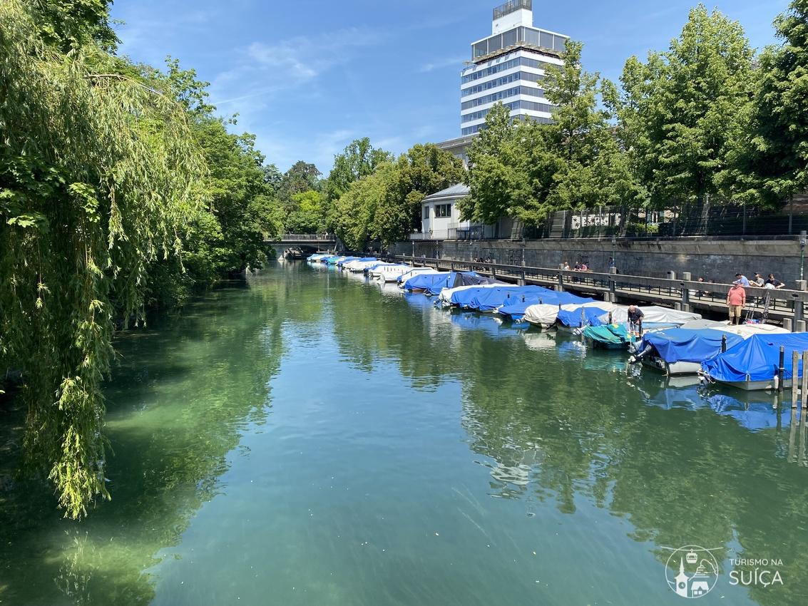 canal em zurique