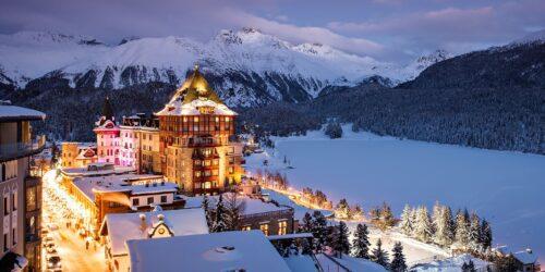 St. Moritz a, a região mais exclusiva dos Alpes Suíços