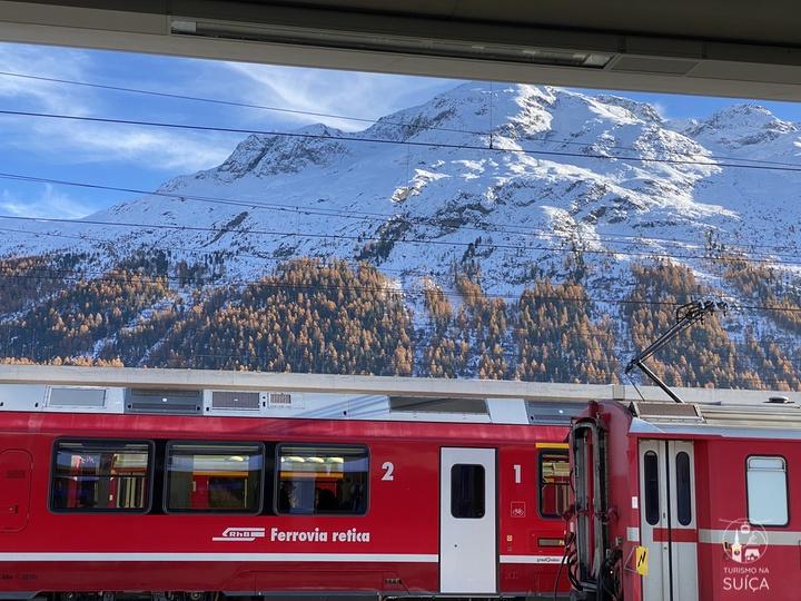 como chegar em st moritz suiça